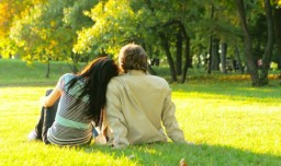 New-Married-Couple-In-Love-Spending-Time-Together-In-Park